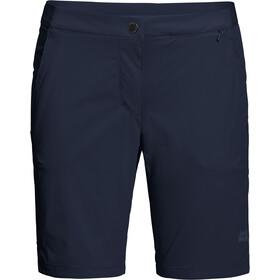 Jack Wolfskin Hilltop Trail Pantaloncini Donna, blu